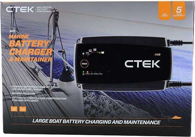Ctek 40 201 Batterieladegerät M25 12 V 25 A Navigation