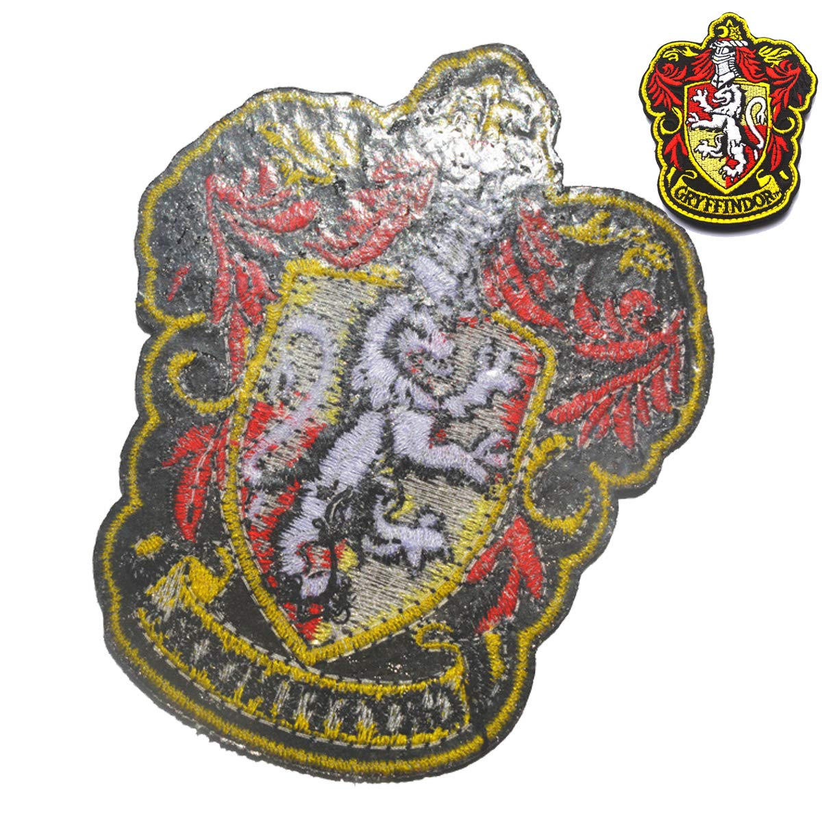 Harry Potter House of Hufflepuff House Hogwarts s Crest Patch Full Color Sew/Iron-On Patches Applique For Coat Jacket Gear Cap Hat Backpack 3.94