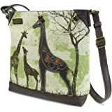 Chala Safari Canvas Mid-Size Crossbody Messenger Bag