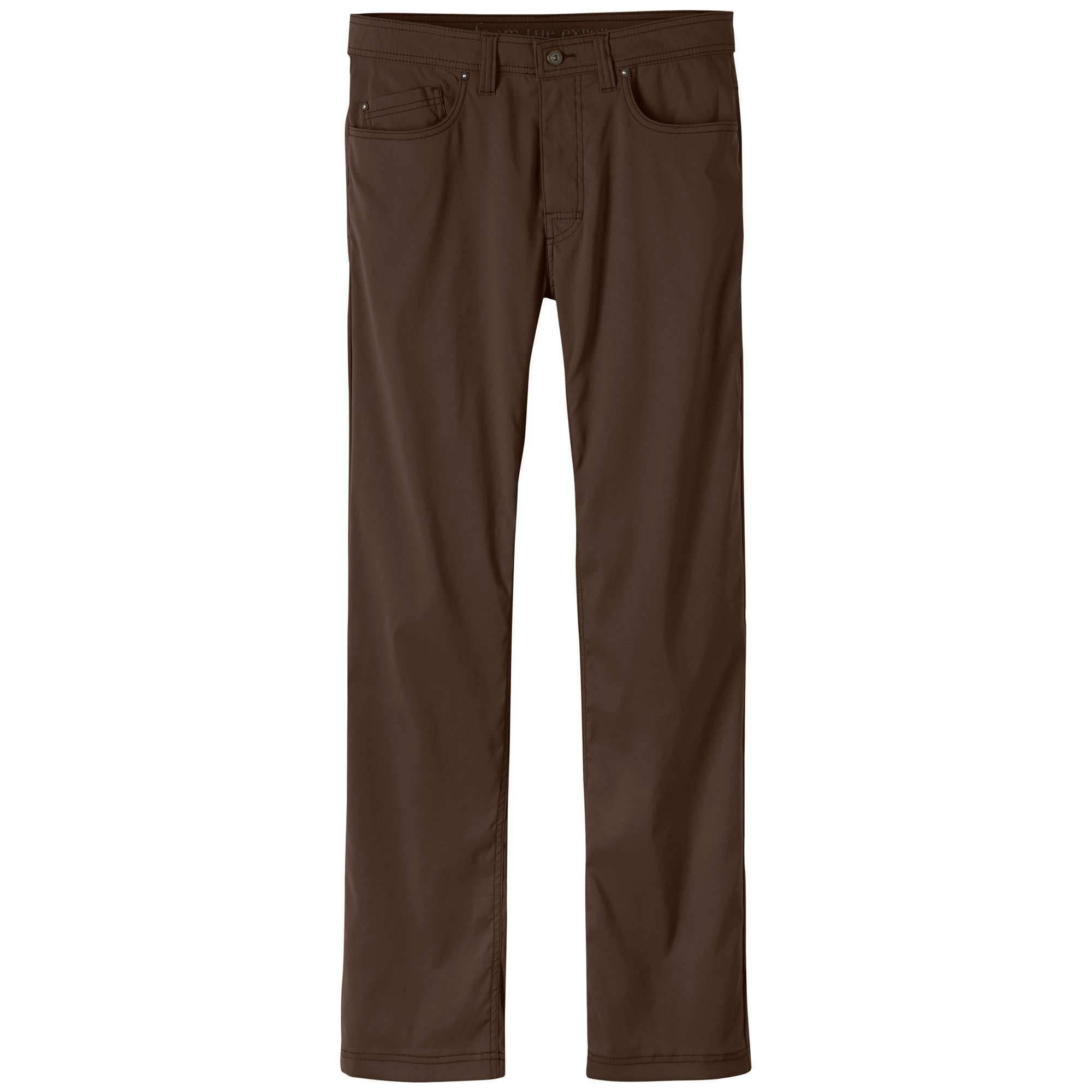 prAna Men's Brion 32'''' Inseam Athletic Pants, Size 28, Coffee Bean