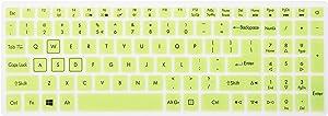 Leze - Ultra Thin Soft Keyboard Protector Skin Cover for Acer Aspire VX 15 VX5-591G, Aspire V15 VN7-593G,Predator Helios 300,Aspire V17 VN7-793G Gaming Laptop US Layout - Green