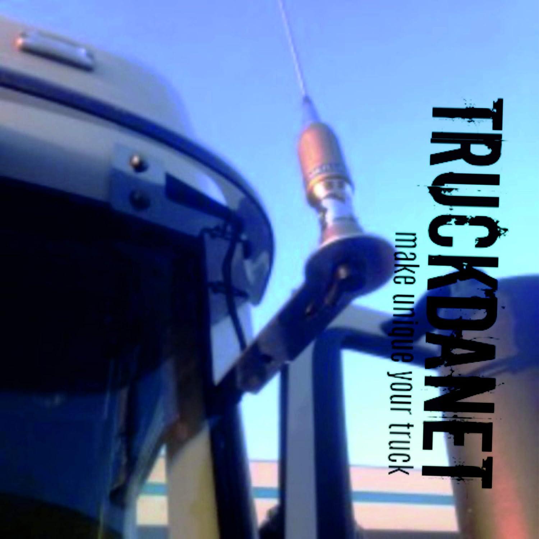 TRUCKDANET Soporte para antena CB (acero inoxidable pulido (aisi 304).Grosor 3 mm. Diseñado para camiones Daf XF 106 Euro 6 (cabina media). Artículo ...