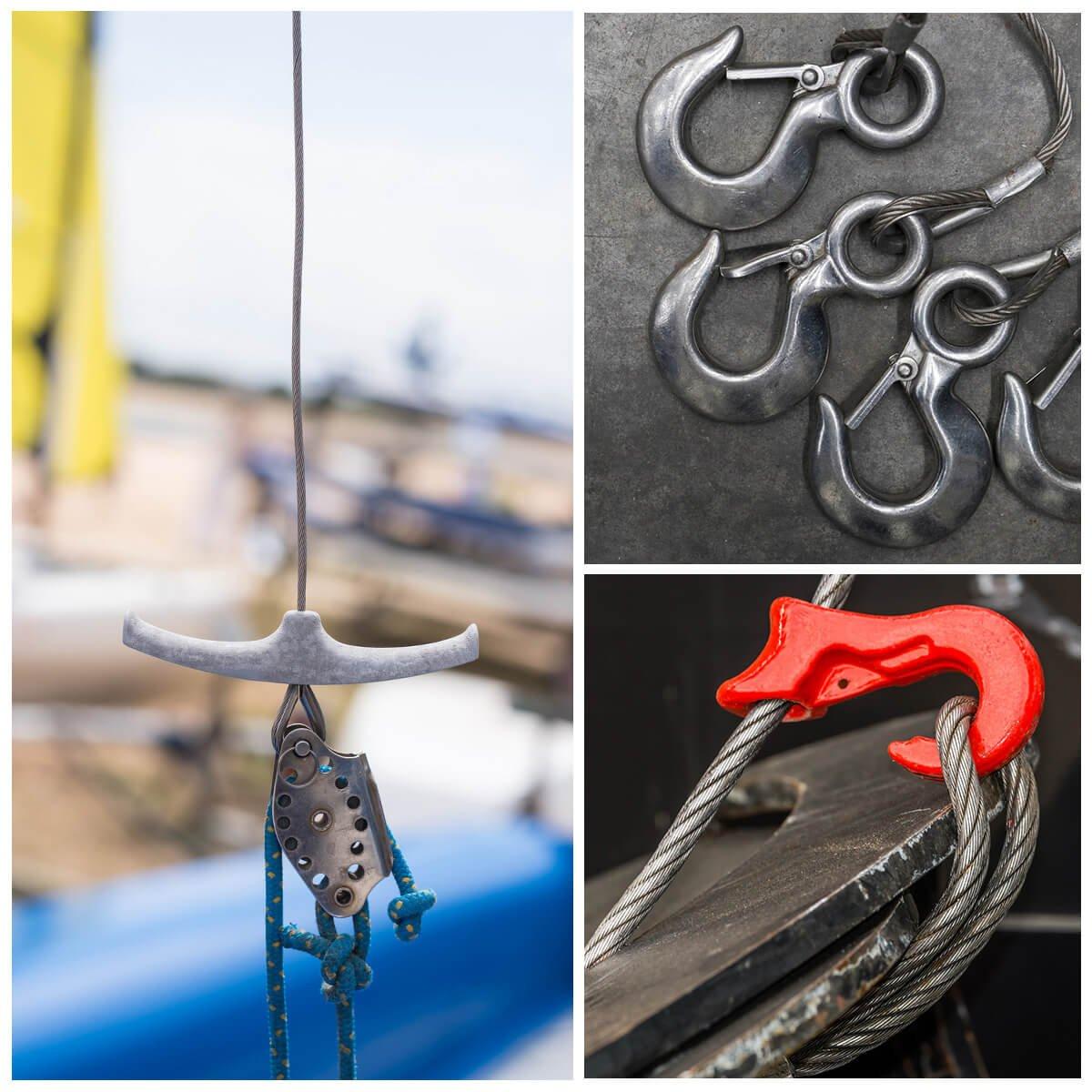 Seilwerk STANKE 25m 3mm Drahtseil 6x7 verzinkt Stahlseil Forstseil DIN Windenseil Seil Draht Stahl