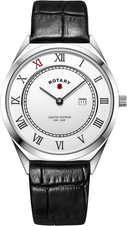 Rotary Reloj edición Limitada WWI Centenario. BRITISHLEGION1