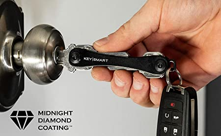 KeySmart – Llavero compacto y organizador de llavero (hasta 14 llaves)