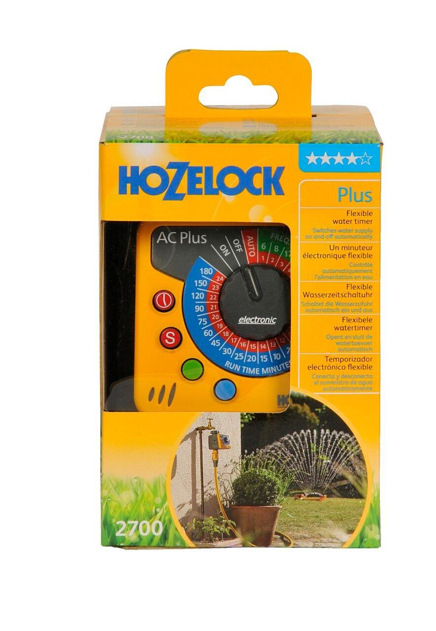 Hozelock - Programador de riego electrónico AC Plus de muy fácil programación: Amazon.es: Jardín