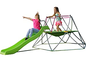 Amazoncom Climbing Dome With Slide Toys Games