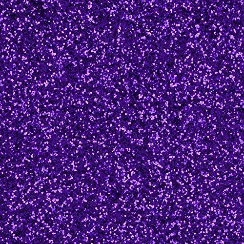Extra-Fine Polyester Glitter, Deep Purple, 1/2 ounce