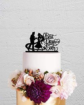 Gâteau De Gâteau De Mariage Raiponce Cheveux Longs