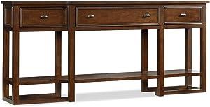 Hooker Furniture Lorimer Sofa Table in Warm Brown