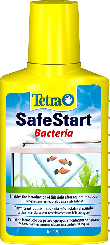 Tetra SafeStart 100 ml - Permite introducir peces en el agua inmediatamente después de montar un nuevo acuario