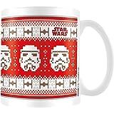 Star Wars MG23587 Tasse en céramique Noël Stormtrooper 8x11,5x9,5cm multicolore