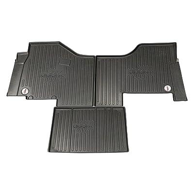 MINIMIZER Floor Mats; Peterbilt; 579 (2013-20), 567 (2014-20); UltraShift or Allison Automatic Trans, Incompatible w/Battery Box Under Passenger seat; Part #FKPCR1AB: Automotive