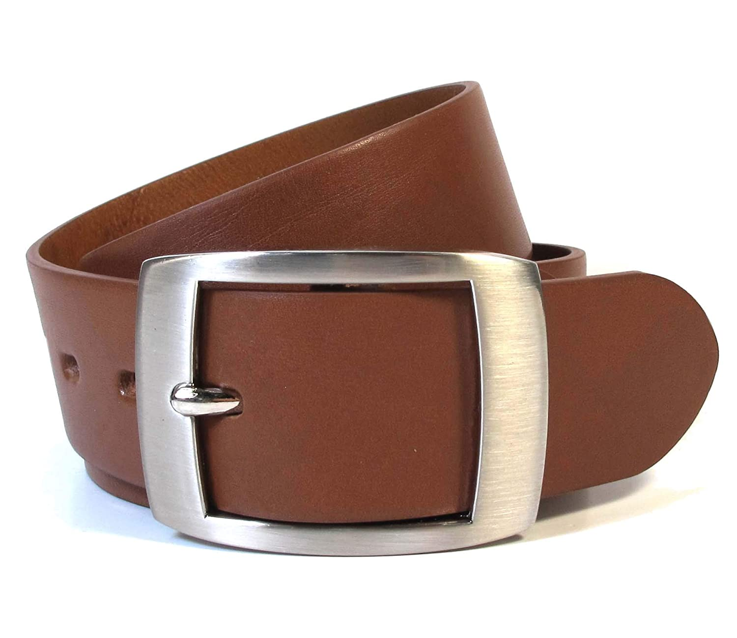 CU3 Mens Real Genuine Leather Belt Black Brown White 1.5 Wide S-XL Casual Jeans