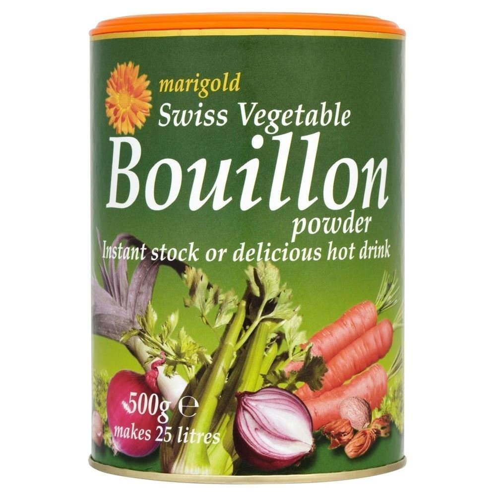 (3 PACK) - Marigold Swiss Vegetable Bouillon| 500 g |3 PACK - SUPER SAVER - SAVE MONEY by Marigold (Tins)