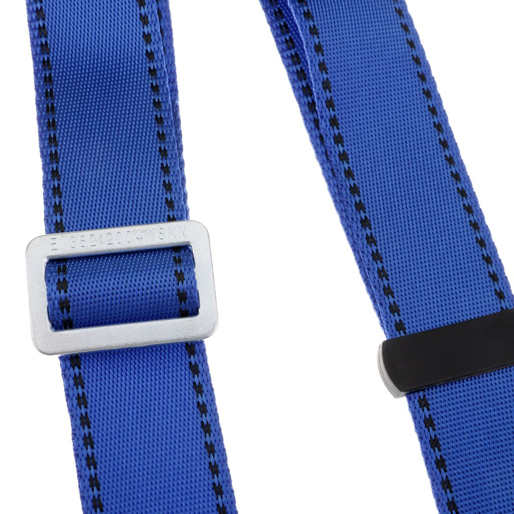 Baosity Adjustable Climbing Roofing Safety Harness Belt Lanyard for Fall Protection Rescue Service Blue by Baosity (Image #7)