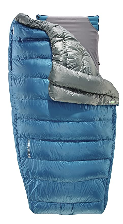 Therm-a-Rest Vela Puffy Down Camping Quilt – The Hammock Quilt with Excellent Warmth to Weight Ratio