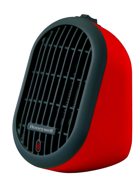 Honeywell HCE100RCD1 Heat Bud Personal Ceramic Heater, Red