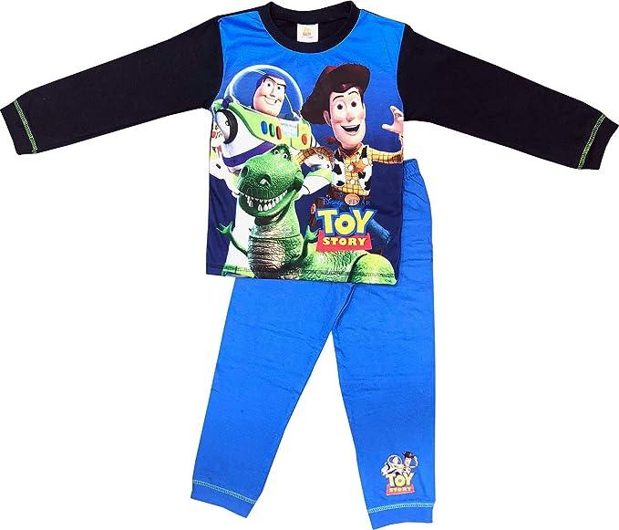 character long pjs 18mths -5yrs woody TOY STORY nightwear buzz Boys pyjamas