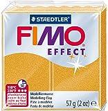 Staedtler - Fimo Effect - Pain Pâte à Modeler 57 g Effet Métallique Or