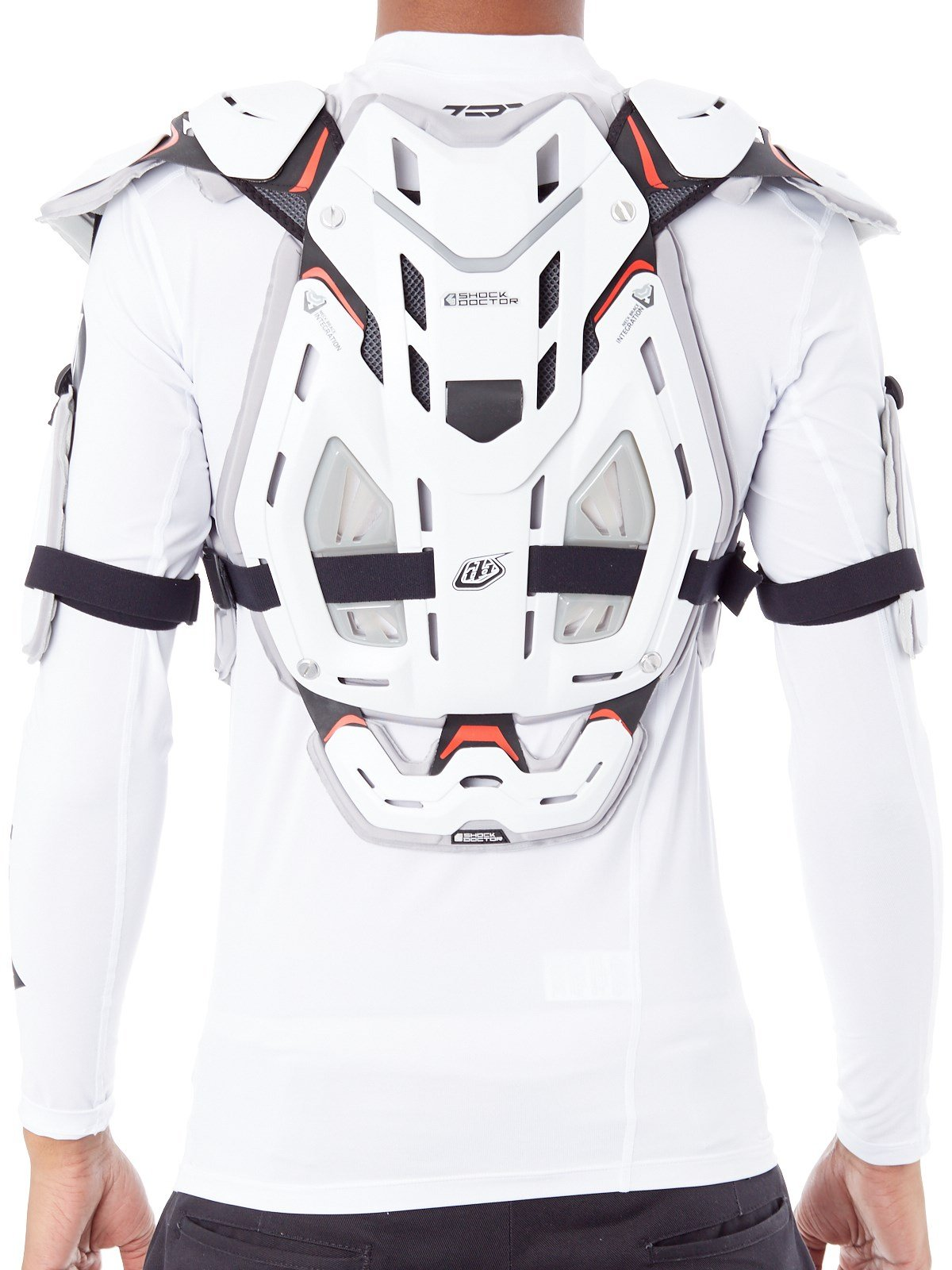 Troy Lee Designs 5955 Chest Body Guard-White-L by Troy Lee Designs (Image #3)