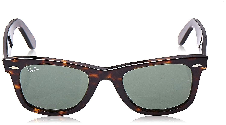 Ray-Ban MOD. 2140 - Gafas de Sol Unisex, Marrón (Marron tortoise / Verde 902), 50 mm