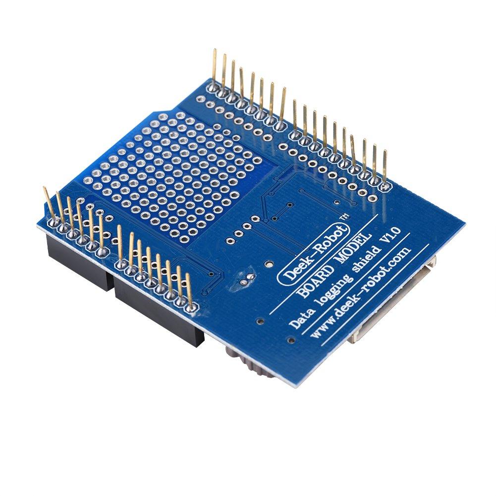 Akozon Data Logging Shield Datenlogger Acquisition Module Recorder fü r Arduino UNO SD-Karte