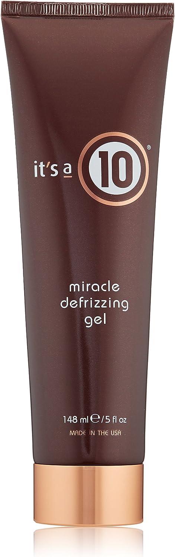 It's a 10 Miracle Defrizzing Gel, 5 fl. oz.
