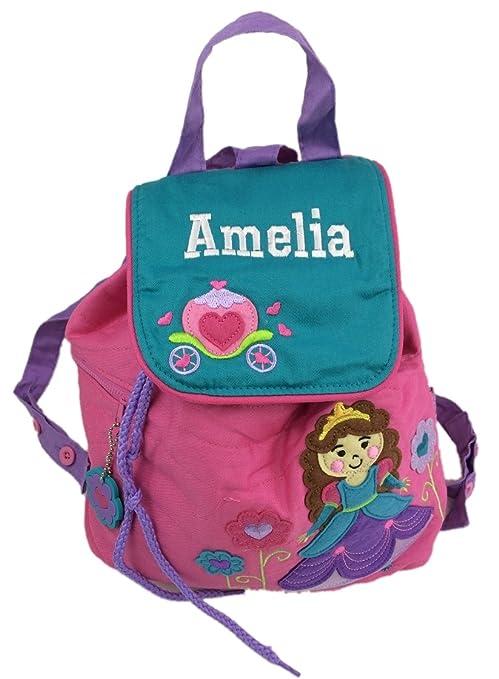 Personalizable princesa mochila/mochila. Gran regalo para niños de vuelta a la