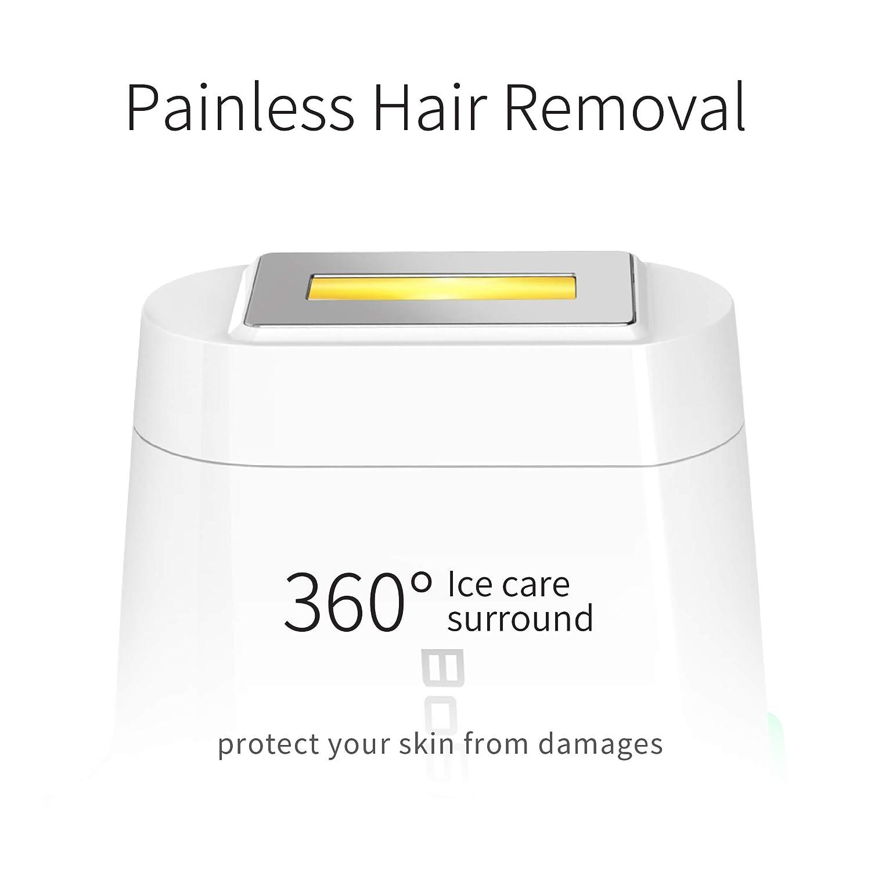 BoSidin Painless Permanent Hair Removal for Women  Men  Face Chin Lip Bikini and Body Use