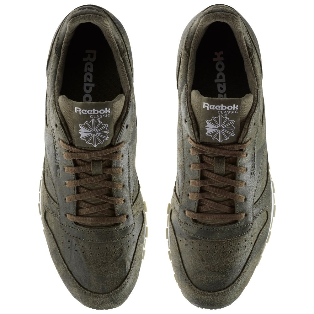 Reebok Classic Leather CTE Army Green Weiß BS5258