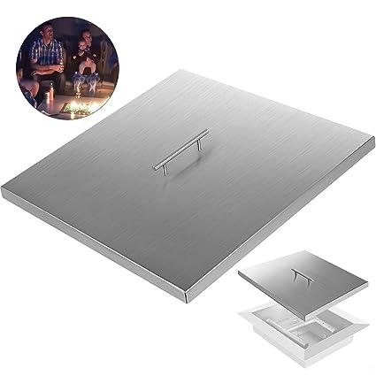 Amazon.com: VEVOR - Tapa de chimenea cuadrada de acero ...