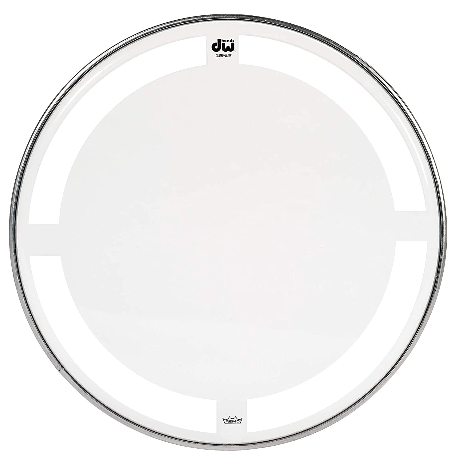Drum Workshop Coated Clear Drum Head, 18 inch 71nlXthfw6L