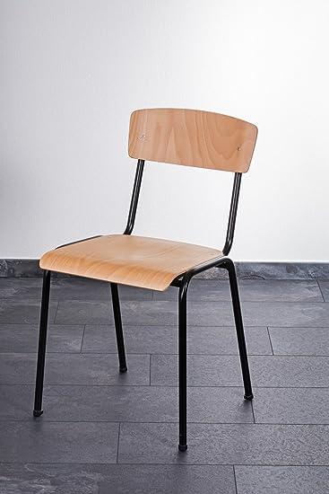 Stapelstuhl Discount 24 Holzstühle Schulstuhl Besucherstuhl Flex