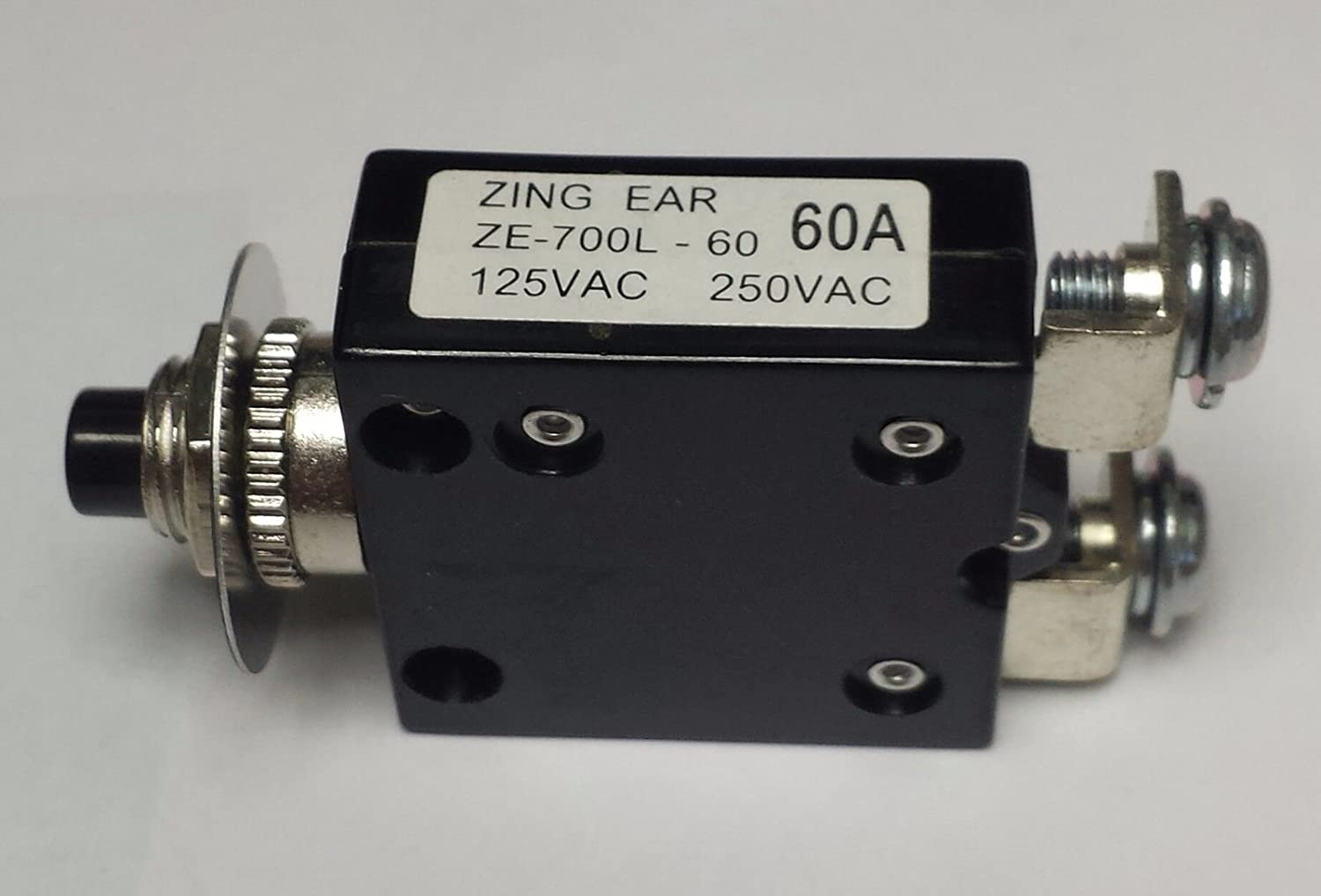 ZE700L-60A Zing Ear thermal circuit breaker replace Potter/&Brumfield W66-series