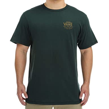 1425103513 Vans Men s Holder Street II Crew Neck T-Shirt Forest Green VN0A36O1QHK (XX-