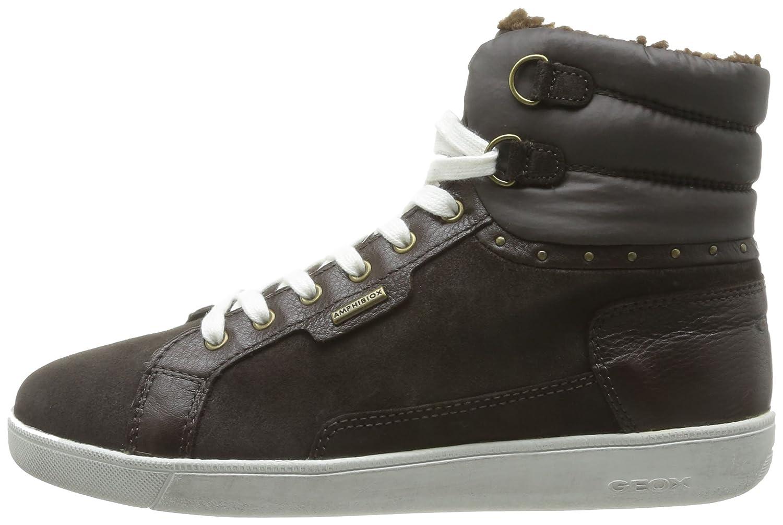 D HOPE ABX M D34E5M02346C6009, Damen Sneaker, Braun (COFFEE C6009), EU 40 Geox