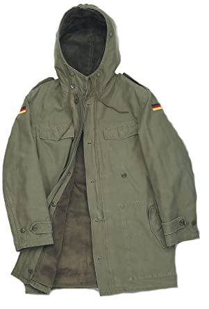 German Army Nato Parka.: Amazon.co.uk: Clothing