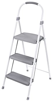 Rubbermaid RM-3W Folding 3-Step Stepladder