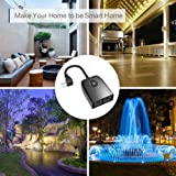 Outdoor Smart Plug, TIKLOK Outdoor WiFi Outlet with