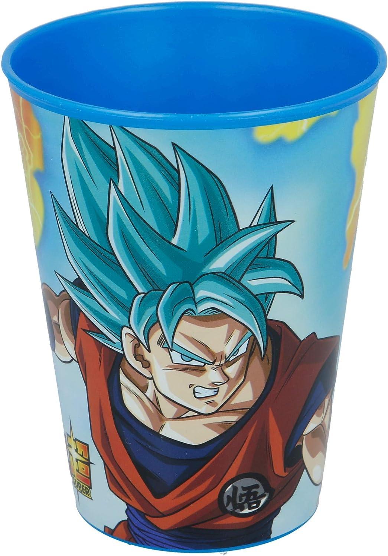 Pappa Mare Tazza Scuola Dragon Ball 1 Bicchiere in PLASTICA Rigida Bicchiere PLASTICA Rigida Little Flight Dragon Ball Pappa Scuola