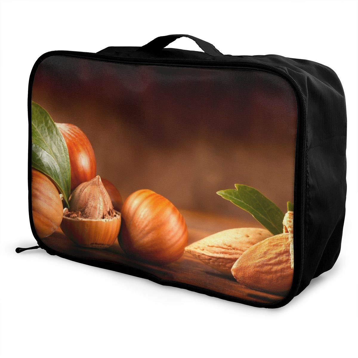 Travel Luggage Duffle Bag Lightweight Portable Handbag Nut Large Capacity Waterproof Foldable Storage Tote