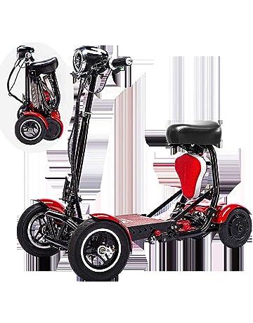 SSCJ Scooter portátil de Movilidad de Viaje, Bota de Viaje, Scooter de 4 Ruedas