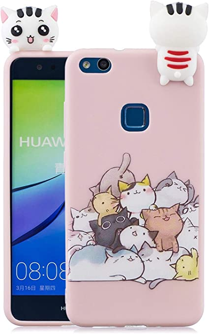Keteen Cover Huawei P10 Lite Silicone Custodia Huawei P10 Lite 3D ...