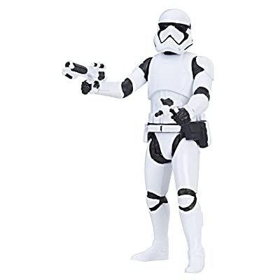 Star Wars: The Last Jedi First Order Stormtrooper Force Link Figure 3.75 Inches: Toys & Games