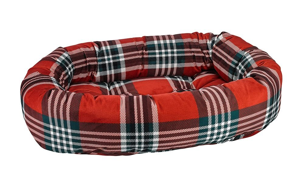Bowsers Donut Bed, Small, Royal Troon Tartan by Bowsers