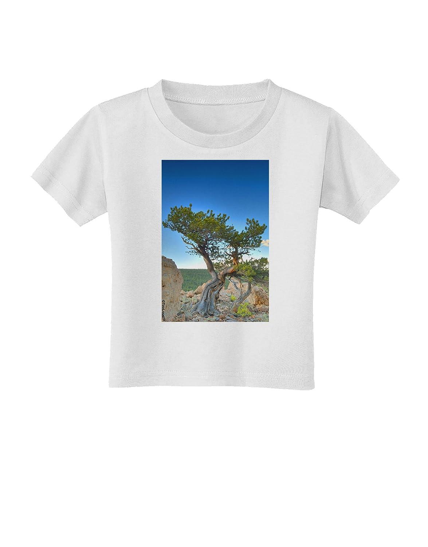 TooLoud Colorado Landscape Tree Toddler T-Shirt