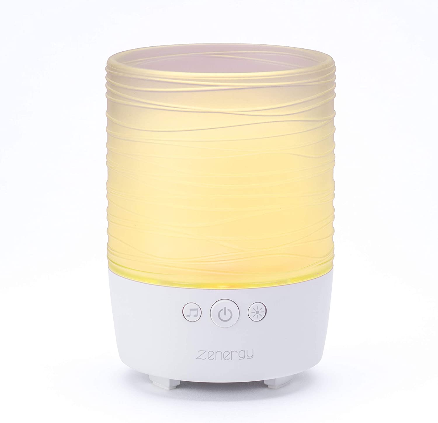 iHome Zenergy Candle Portable Bluetooth Meditative Light and Sound Therapy Candle with Candle Effect, Sound Therapy, and Breathing Guide