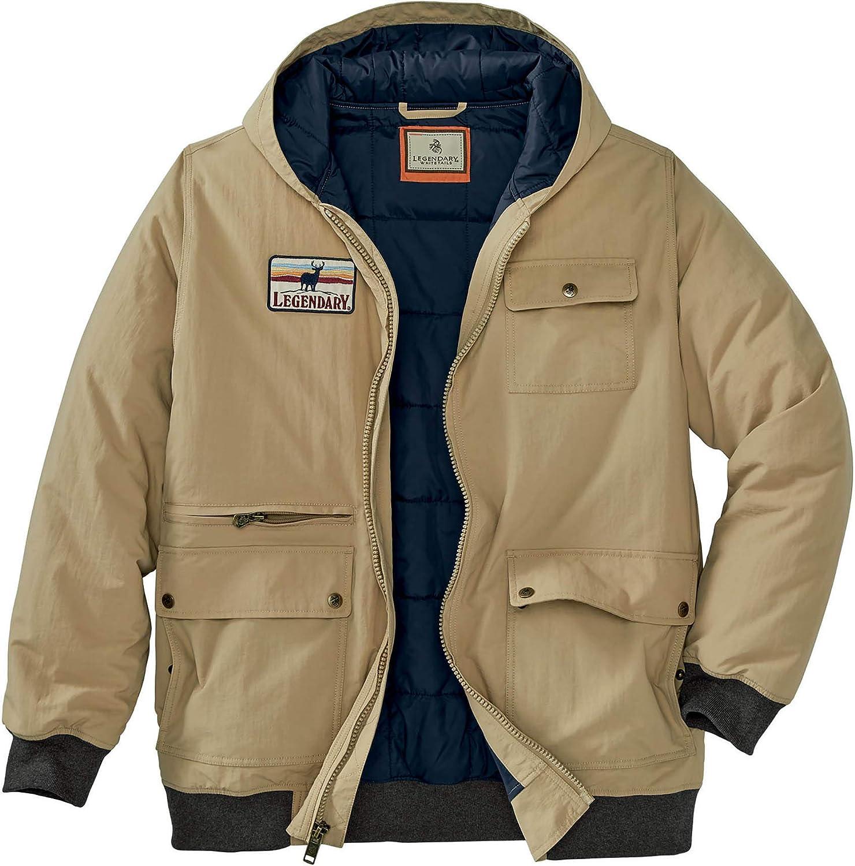 Legendary Whitetails mens The Marksman Jacket: Clothing