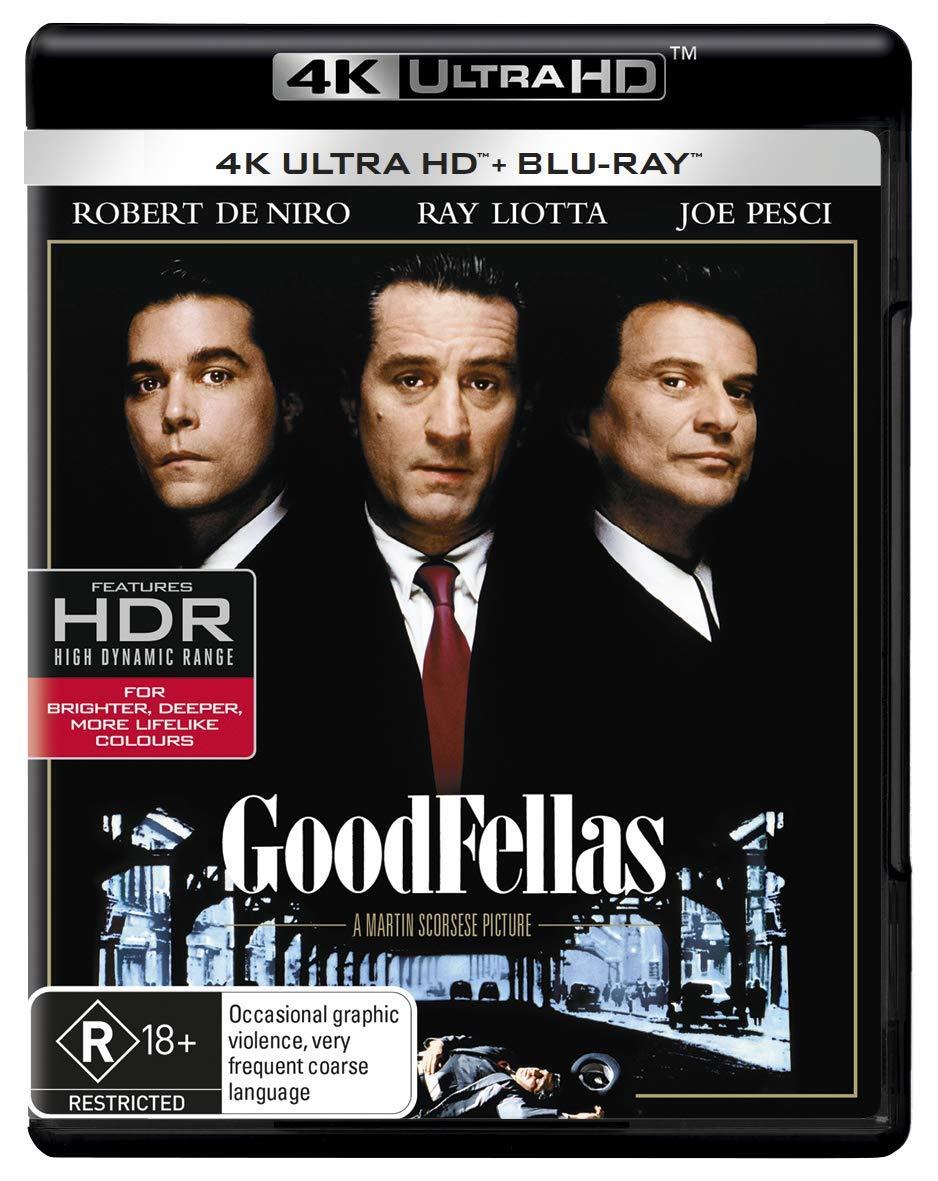 4K Blu-ray : Goodfellas (Australia - Import)